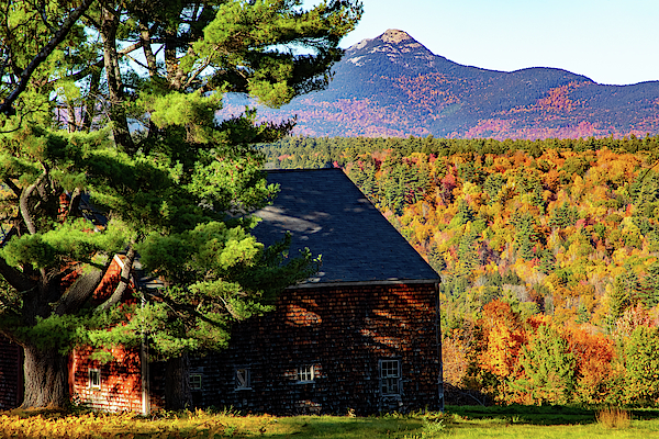 Barn under Mount Chocorua by Jeff Folger