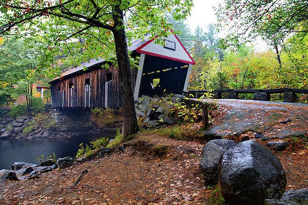 Love Joy covered bridge by Jeff Folger